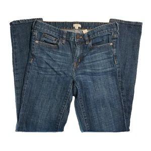 J. Crew mid-rise Skinny Stretch Jeans size 26.